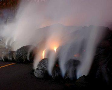 Vulcão Em Erupção Ameaça Isolar Vários Bairros No Hawai 6