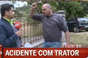 Repórter Da CMTV é Ameaçado e Fica Sem Microfone 9