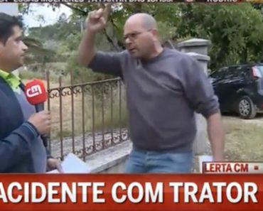 Repórter Da CMTV é Ameaçado e Fica Sem Microfone 11