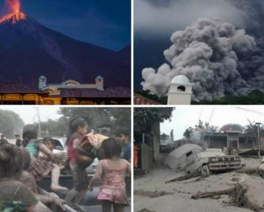Imagens Impressionantes Mostram o Desespero Vivido Durante a Erupção De Vulcão Na Guatemala 9