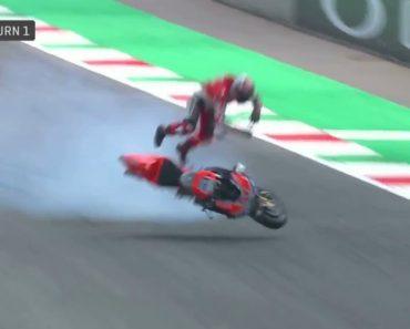 Piloto Sofre Assustador Acidente Com Ducati a 355 km/h 5