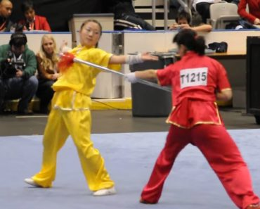 Demonstração Surreal De Wushu... a Arte Marcial Onde Não São Permitidos Erros! 1