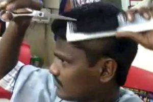 Barbeiro Indiano Com Um Talento Fora De Série 10