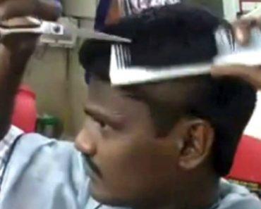 Barbeiro Indiano Com Um Talento Fora De Série 4