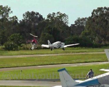 Avião e Helicóptero Sofrem Acidente Ao Colidirem No Ar 2