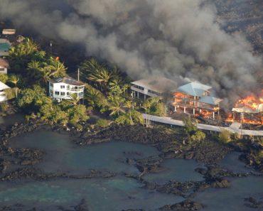 Vídeo Mostra Força Destruidora Do Vulcão Kilauea 3