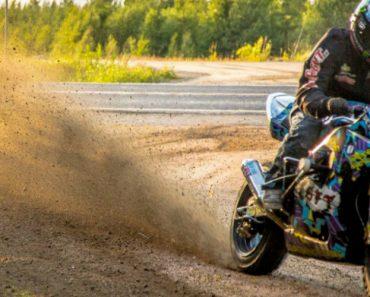 Pegou Numa Suzuki GSX-R e Foi Para o Monte... o Resultado é Brutal!! 7