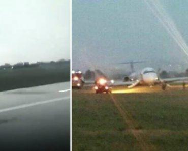 Passageiro De Avião Filma O Momento De Pânico Vivido Durante Assustadora Aterragem 1