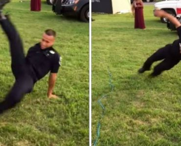Um Policia Com Um Talento Impressionante Para o Breakdance 9
