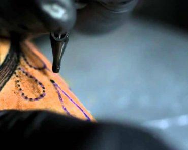 O Detalhe e a Precisão De Uma Agulha De Tatuar... Um Slow Motion Como Nunca Viu!!! 8