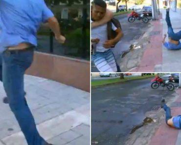 Taxista Tenta Agredir Assaltante... Mas a Tentativa Não Corre Como Esperava!! 6