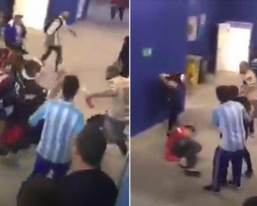 Mundial Veste a Capa Da Vergonha: Argentinos e Croatas Acabam Ao Pontapé 6