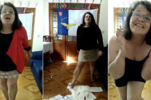 Portuguesa Faz Vídeo Surreal Ao Som De Ágata 10