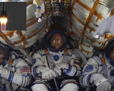 Vídeo Mostra-lhe Reação Surpreendente De Astronautas a Caminho Do Espaço 8