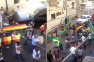 Alemanha Disse Adeus Ao Mundial e Brasileiros Fizeram... Funeral Na Rua 10