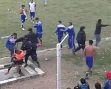 Árbitro Brutalmente Agredido Em Jogo Futebol Na Argentina 2