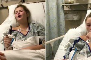 Jovem Sob o Efeito Da Anestesia Revela à Mãe Um Talento Especial 10