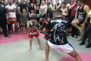Miúdo De 5 Anos é Um Autêntico Prodígio No Muay Thai 8
