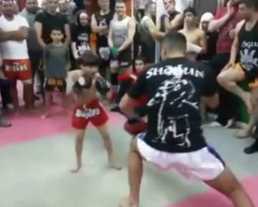 Miúdo De 5 Anos é Um Autêntico Prodígio No Muay Thai 7