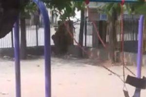 Morador Filma Inexplicável Momento Em Que Baloiço Se Mexe Sozinho Em Parque Infantil 9