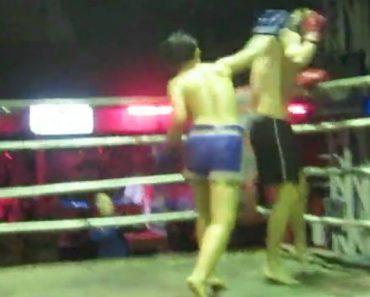 Turista Decide Enfrentar Lutador De Muay Thai Mas Rapidamente Percebe Que Foi Um Erro 5
