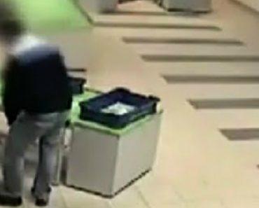 Segurança De Aeroporto Salva Bebé De Uma Queda Desamparada 2