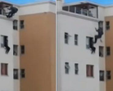 Polícia Salva De Forma Sensacional Homem Que Se Tentava Suicidar 5