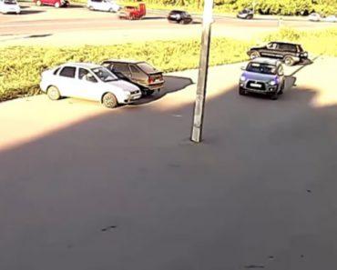 Condutor Sofre Insólito Acidente Ao Sair De Estacionamento 8