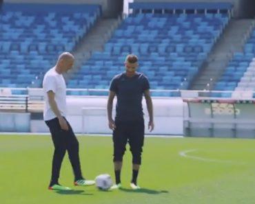 """Zidane """"Desafiou"""" Beckham e Foi Este o Resultado... 8"""