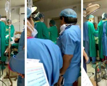 Discussão Entre Médicos Durante Cirurgia Torna-se Viral. Acabam Suspensos 2