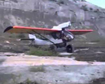 Avioneta Faz Uma Das Decolagens Mais Assustadoras de Sempre 5