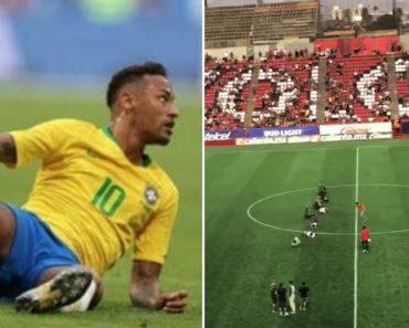 """""""Neymar Challenge"""", o Desafio Em Que Os Adeptos """"Rebolam"""" Em Campo 4"""