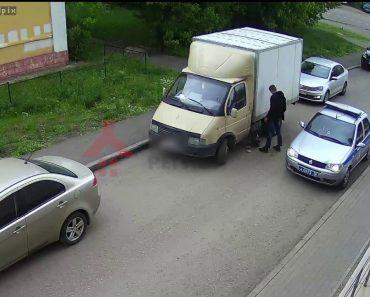 Viu Condutor a Dormir Dentro De Camião e Tentou Roubar o Combustível, Mas Teve Uma Surpresa 9