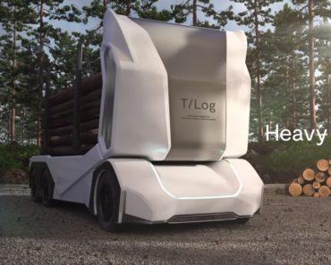Conheça o T-Log: o Primeiro Camião Que Se Conduz Sozinho 5