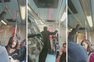 """Passageiros Presenciam Sessão De """"Exorcismo"""" Durante Viagem De Metro 10"""
