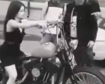 Mulher Percebe De Forma Dolorosa Como é Estar Sentada Numa Harley Davidson 1