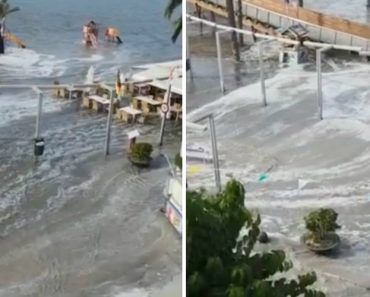Vídeo Mostra Como Ficaram Algumas Zonas De Espanha Após a Passagem De Mini-Tsunami 8