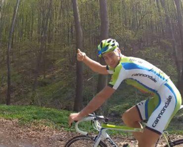 """Ciclista Profissional Mostra Como """"Estaciona"""" a Sua Bicicleta Depois De Um Treino 7"""
