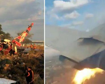 Passageiro Capta Momento Exato Da Queda De Avião Que Matou 2 Pessoas 3