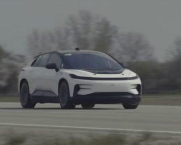Rival Da Tesla Partilha Novo Vídeo Com o Seu Carro Elétrico 2