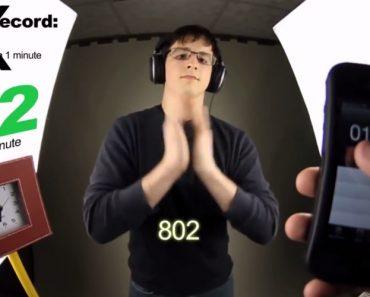 Jovem Consegue Bater 802 Palmas Em 60 Segundos 4