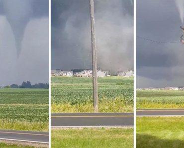 Tornado Assusta População Em Iowa 7