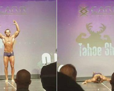Fisiculturista Cai De Cara No Chão Ao Arriscar Salto Mortal Durante Competição 7
