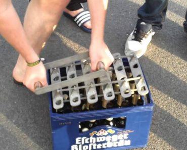 Como Abrir 24 Cervejas De Uma Só Vez 7