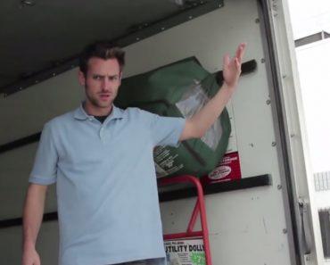 Homem Preso Nas Traseiras De Um Camião Pensa Ter Um Comboio a Vir Em Sua Direção 3