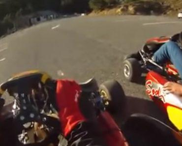 Uma Descida De Karting Ao Mais Alto Nível 6