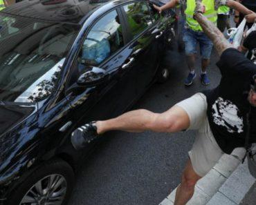 Imagens Da Manifestação Dos Taxistas Que Acabou Em Violência 2