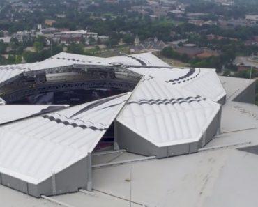 Estádio Dos Atlanta United Ganha Cobertura Retrátil e é... Incrível 8