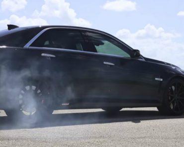 Hennessey Mostra Cadillac CTS-V Com Mil Cavalos 7