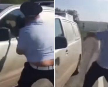 Polícia Fica Sem Saber o Que Fazer Para Conseguir Partir Vidro De Veículo 5